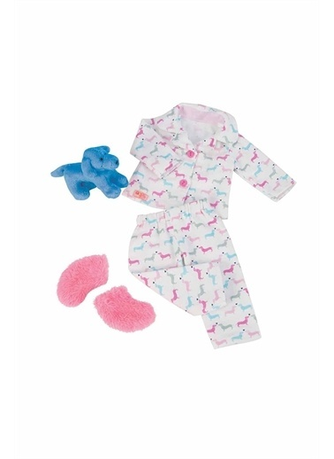 Our Generation Our Generation Pijama Seti Oyuncak Bebek Kıyafeti / Köpek Renkli